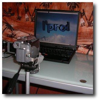 IBM T41 Eric + Camescope